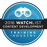 training industry top content development company