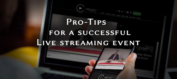 LiveEventStreamingProTipsTitleImage