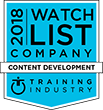 Training Industry Content Development Company 2018 Watch List