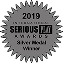 Silver in the 2019 International Serious Play Awards
