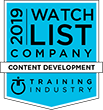 2019 Training Industry Content Development Award