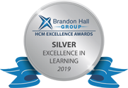Cinecraft 2019 Brandon Hall Silver Excellence In Learning Award Winner