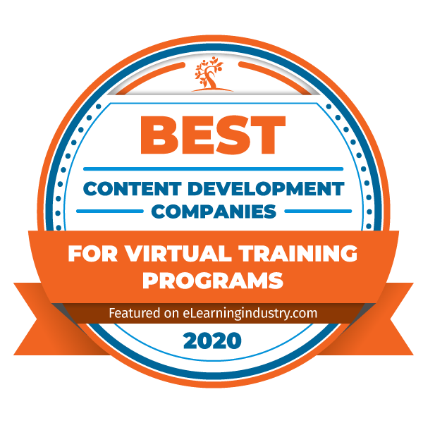 elearning inudstry virtual training award